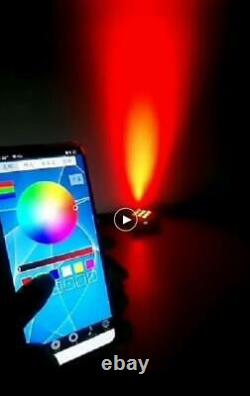 10 light 618W RGBWAUV Wireless IR Battery rechargable Wifi Led Par smart dj