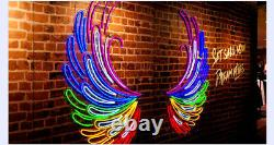 100ft SMD5050 RGB LED Neon Rope Light Indoor / Outdoor Bar Party Garden Decor