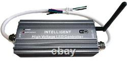 110V 120V LED Strip Light 32ft RGB+W Flexible Outdoor Holiday 5050