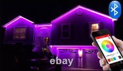 115ft 110V 120V RGB +W LED Light Flexible Outdoor LED Strip Light with Bluetooth