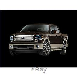 13-14 Ford F-150 Multi-Color Changing Shift LED RGB Headlight Halo Ring Set