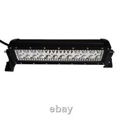 14 inch Led Light Bar Combo with RGB Halo Multi Color Change Chasing Bluetooth 12