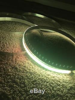 15.5 BLUETOOTH RGB Color-Change LED Wheel Ring Light KIT 4pcs SET
