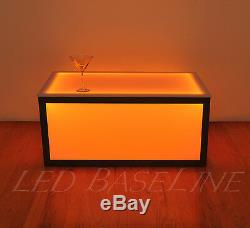 16 Led Cube Coffee Tabled Bar Modern Color Changing