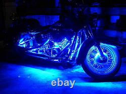 18 Color Change Led Street Glide Motorcycle 24pc Motorcycle Led Neon Light Kit