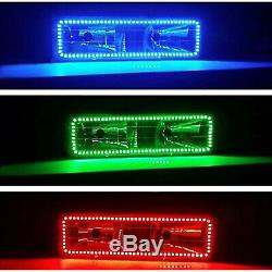 1988-98 Chevy GMC Multi-Color Changing LED RGB Headlight Halo Ring BLUETOOTH Set