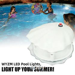 2 PACK WYZM LED Pool Light for Above Ground Swimming Pool, Color Changing US NEW