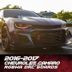 2016-2019 Chevrolet Camaro Color-Chasing or RGBW Color-Changing LED DRL Boards