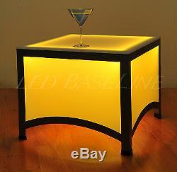 21 Led End Table Bar Modern Color Changing
