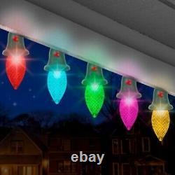 24 Gemmy Orchestra of Lights Dancing Multi-Function Color-Changing C9 Lights