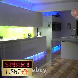 24V 20M 1200 LED Strip Light Tape XMAS Cabinet Kitchen Ceiling Flexible SMD 5050