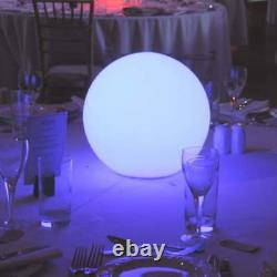 25cm Light Up Mood Sphere Lamp LED Orb by PK Green