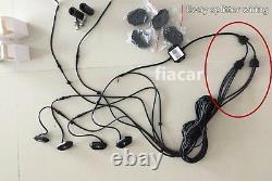 2PCS 3FT RGB Color changing LED Whip Lights + 4PCS RGB LED Rock Lights Sync Kit