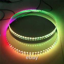 4 X Fiacarlighting 15.5 IP68 RGB Color Changing Bluetooth LED Light Wheel Rings