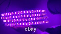4X DOUBLE ROW 17.5 LED RGB Rim Wheel Lights Color Change illuminate Bluetooth