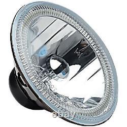 5-3/4 RF RGB SMD Color Change Halo Angel Eye Shift Headlamp LED Headlights Pair