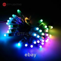 50500pcs WS2811 IC LED Modules String RWB Wire 9/12mm 5/12V Digital Addressable