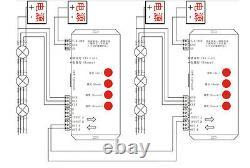 50pcs 500pcs WS2811 12mm RGB Full Color Pixels digital Addressable LED String