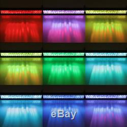 52inch 1000W LED Light Bar Multi Color Changing Offroad 54 SUV Boat Driving