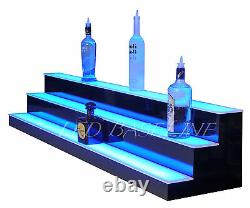 54 COLOR Changing 3 Step Display Glass Bottle Glorifier