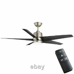 54 inch Color Changing LED Indoor/Outdoor Ceiling Fan with Light Kit and Remote