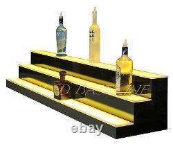 58 LED Lighted Bar Shelving 3 Step Color changing Display Bottles