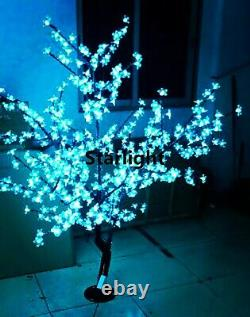5ft/1.5m LED Cherry Blossom Tree Light 8 Color-Changing via Remote Controller