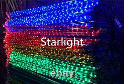 6.5ft/2m Outdoor LED Fireworks Light Holiday Home Decor Red+Blue+Green+Yellow