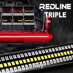 60 LED Strip Tailgate Bar for Pickup Truck Brake Reverse Turn Signal Tail Light