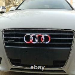 Audi Rings RGBW Color-Changing LED Emblem Logo Badge (Flow Series)