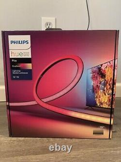 BRAND NEW Philips Hue Play Gradient Lightstrip 75 FAST SHIP