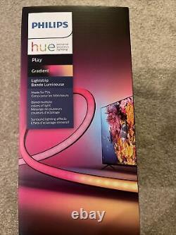 Brand New In Hand Philips Hue Play Gradient Led Backlight Lightstrip For 55 Tv