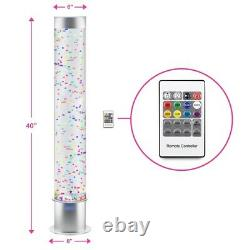 Bubble Tube Tank Tower with Remote Control 100cm