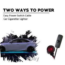 Car Truck LED Wheel Ring Lights LED Under Body Glow Lights Color Shift Changing
