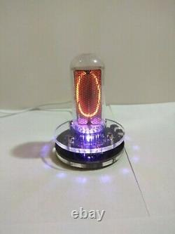 Clock with nixie tube in-18 USA warehouse LED backlight Tube included