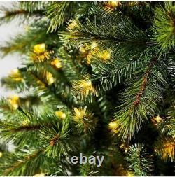 Color Changing Christmas Tree Pre Lit 550 Dual Color LED Lights 7.5' 8 Function