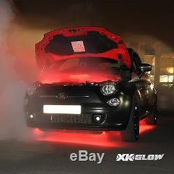 Color Changing Under Car Truck Boat Underglow 12 Tube Lights Wide Angle LED