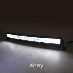 Curved 32inch LED Light Bar RGB Color Changing Chasing Strobe Remote Control
