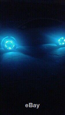 FIA 15.5'' RGB Multi-color Change LED x4PCS Wheel Ring Lights Rim Bluetooth IP68