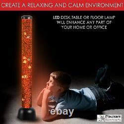 Floor Lamp Fish Tank Artificial Sensory LED Color Change Home Office Decor Light