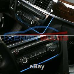 For BMW F30 F31 F34 F82 M3 M4 Illuminated AC radio Trim Ambient Light LED strip