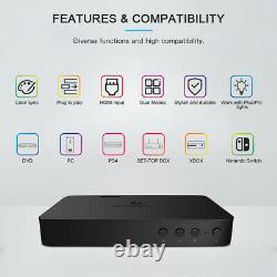 Gledopto HDMI SYNC Box Kit 5M RGB LED Mood Light Color Changing TV Backlighting