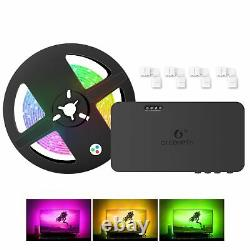 Gledopto HDMI SYNC Box RGB 5M Stripe LED Backlight TV background lighting