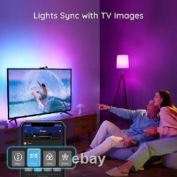 Govee Immersion WiFi TV LED Backlights with Camera, RGBIC Ambient TV Lighting fo