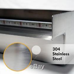 Half Off Ponds Steel Elegance 36 Color Changing LED Lighted Spillway SE36CC