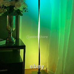 Helix Color Changing RGB LED Corner Floor Lamp Pole Light Living Room 110V