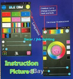 Jhb-lighting 15.5 IP68 Pro RGB Color Changing LED Wheel Rings Lights x4PCS Set