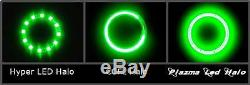 Kawasaki ZX14 ZX14R 2006-2020 Color Changing Plasma Halo Quad Angel Eye w Remote