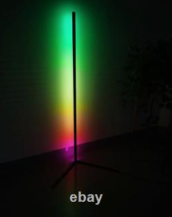 LED Corner Floor Lamp Modern Colour Changing RGB Minimalist Mood lighting