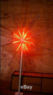 LED Fireworks Light Christmas Light 27 Branches 6.5ft 4 Colors Changing Outdoors